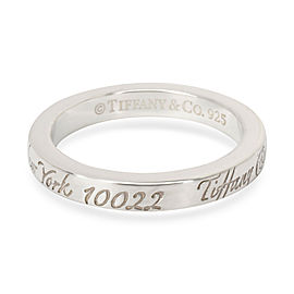 Tiffany & Co. Notes Band in Sterling Silver