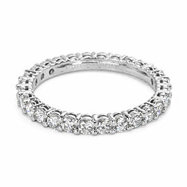 Tiffany & Co. Embrace Diamond Eternity Band in Platinum 1 CTW