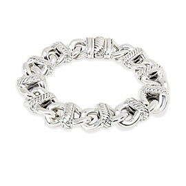 David Yurman Madison Cable Curblink Bracelet in Sterling Silver