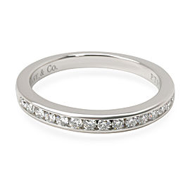 Tiffany & Co. Channel Set Diamond Band in Platinum 0.15 CTW