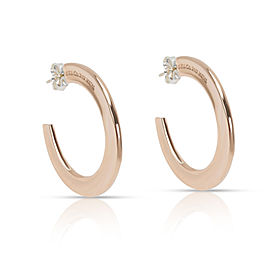 Tiffany & Co. 1837 Rubedo Hoop Earrings
