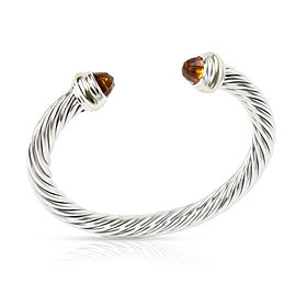 David Yurman Cable Classics Bracelet with Citrine 7mm 14K Gold/Sterling Silver