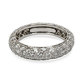 Tiffany & Co. Etoile Pave Diamond Eternity Band in Platinum 1.44 CTW