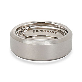 David Yurman Men's Wedding Band in Titanium 8.5mm Wide