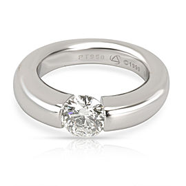 Steven Kretchmer Tension Diamond Engagement Ring in Platinum GIA I SI 0.90 CTW