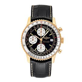 Breitling Navitimer Fighter Yellow Gold Limited Edition Mens Watch H13330