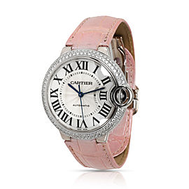 Cartier Ballon Bleu WE900651 Unisex Watch in 18kt White Gold