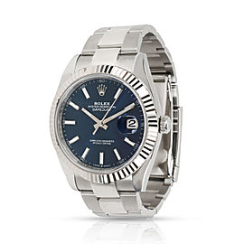 Rolex Datejust 41 126334 Men's Watch in 18kt Stainless Steel/White Gold