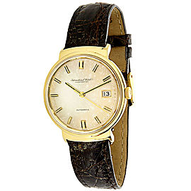 IWC Dress R800A Men's Watch in 18K Yellow Gold