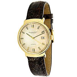 IWC Dress R800A Men's Watch in 18K Yellow Gold
