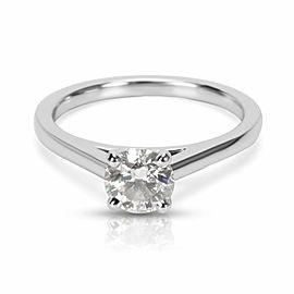 De Beers Diamond Engagement Ring in Platinum F VS1 (0.55ctw)