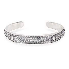 David Yurman Heirloom Grey Sapphire Men's Cuff in Sterling Silver