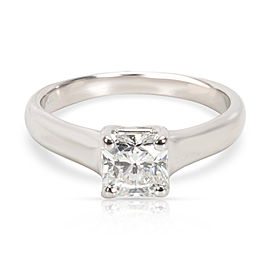 Tiffany & Co. Lucida Cut Diamond Engagement Ring in Platinum (0.65 ct H/VVS2)