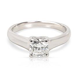 Tiffany & Co. Lucida Cut Diamond Engagement Ring in Platinum (0.65 ct H/VVS2)