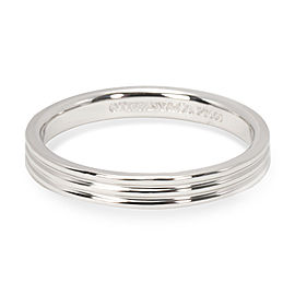 Tiffany & Co. Three Line Band in Platinum