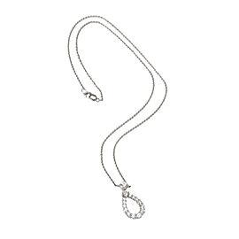 Harry Winston Teardrop Diamond Necklace in Platinum 0.94 CTW