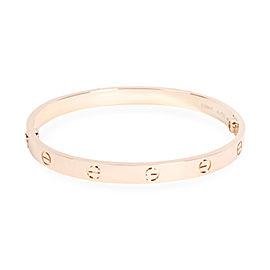 Cartier Love Bracelet in 18K Rose Gold (Size 19)