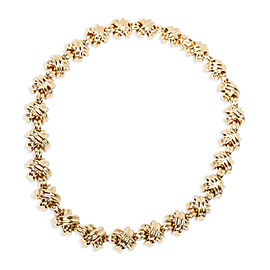 Tiffany & Co. Vintage X Necklace in 18K Yellow Gold