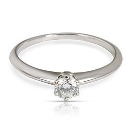 465440b47 Tiffany & Co. Solitaire Diamond Engagement Ring in Platinum F VS2 0.34 CTW