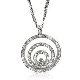 Chopard Happy Spirit Diamond Pendant in 18K White Gold (1.97 CTW)