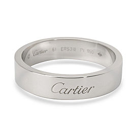 Cartier C De Cartier Wedding Band in Platinum 6mm