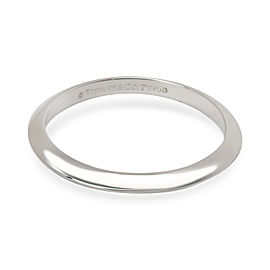 Tiffany & Co. Knife Edge 2mm Wedding Band in Platinum