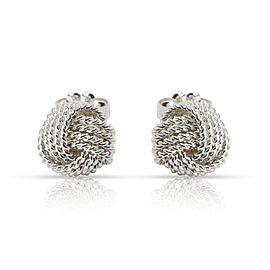 Tiffany & Co. Somerset Knot Stud Earring in Sterling Silver