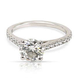 DeBeers Diamond Diamond Engagement Ring in Platinum (1.25 CTW G/VS1)