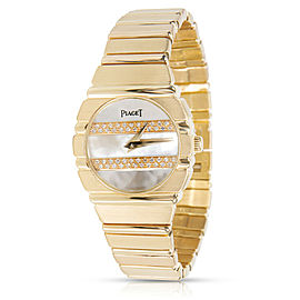Vintage Piaget Polo 861 C 701 Women's Watch in 18K Yellow Gold