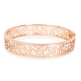 Chanel Rose Camelia Ajorne Bangle in 18K Rose Gold