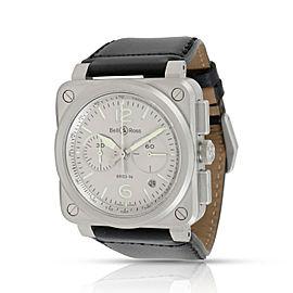 Bell & Ross Horolum BR03-94-GR-ST Men's Watch in Stainless Steel