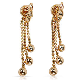 Cartier Draperie Diamond Earrings in 18K Yellow Gold 0.75 CTW