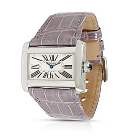 Cartier Divan 2599 Women's Watch in Stainless Steel