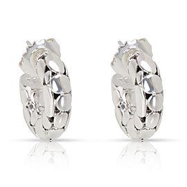 John Hardy Kali Dot Hoop Earrings in Sterling Silver