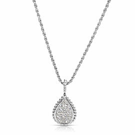 Boucheron Serpent Boheme Diamond Necklace in 18KT White Gold 0.75 ctw