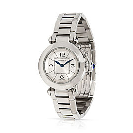 Cartier Miss Pasha W3140007 Women's Watch in Stainless Steel