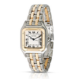 Cartier Panther W25028B6 Unisex Watch in 18kt Stainless Steel/Yellow Gold