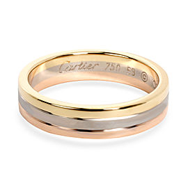 Cartier Trinity Band in 18K 3 Tone Gold 5mm