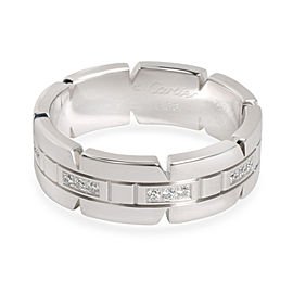 Cartier Tank Francaise Diamond Band in 18K White Gold 0.17 CTW