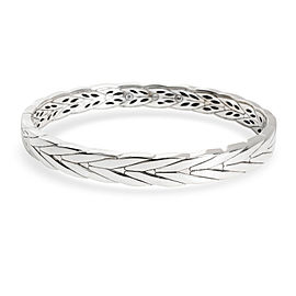 John Hardy Modern Chain Hinged Bangle in Sterling Silver 8mm