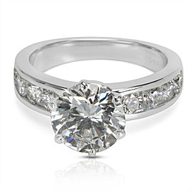 Tiffany & Co. Diamond Engagement Ring in Platinum (2.86 CTW)