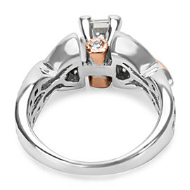 Princess Cut Diamond Engagement Ring in 14K Gold (1 1/2 CTW)