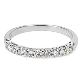 Tiffany & Co. Diamond Wedding Band in Platinum (0.27 CTW)