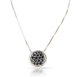 John Hardy Bamboo Collection Black Sapphire Necklace in Sterling Silver