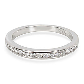 Tiffany & Co. Classic Channel Diamond Band in Platinum 0.23CTW