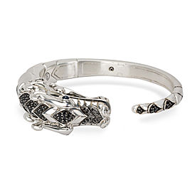 John Hardy Dragon Cuff in Sapphires & Sterling Silver