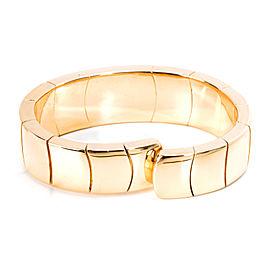 Diamond & Abalone Bangle in 18K Yellow Gold 2 CTW