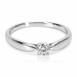 Tiffany & Co. Harmony Diamond Engagement Ring in Platinum E VS1 0.18 CTW