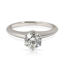 Tiffany & Co. Diamond Engagement Ring in Platinum H VS2 1.01 CTW