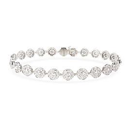 Tiffany & Co. Circlet Diamond Bracelet in Platinum 2.57 CTW